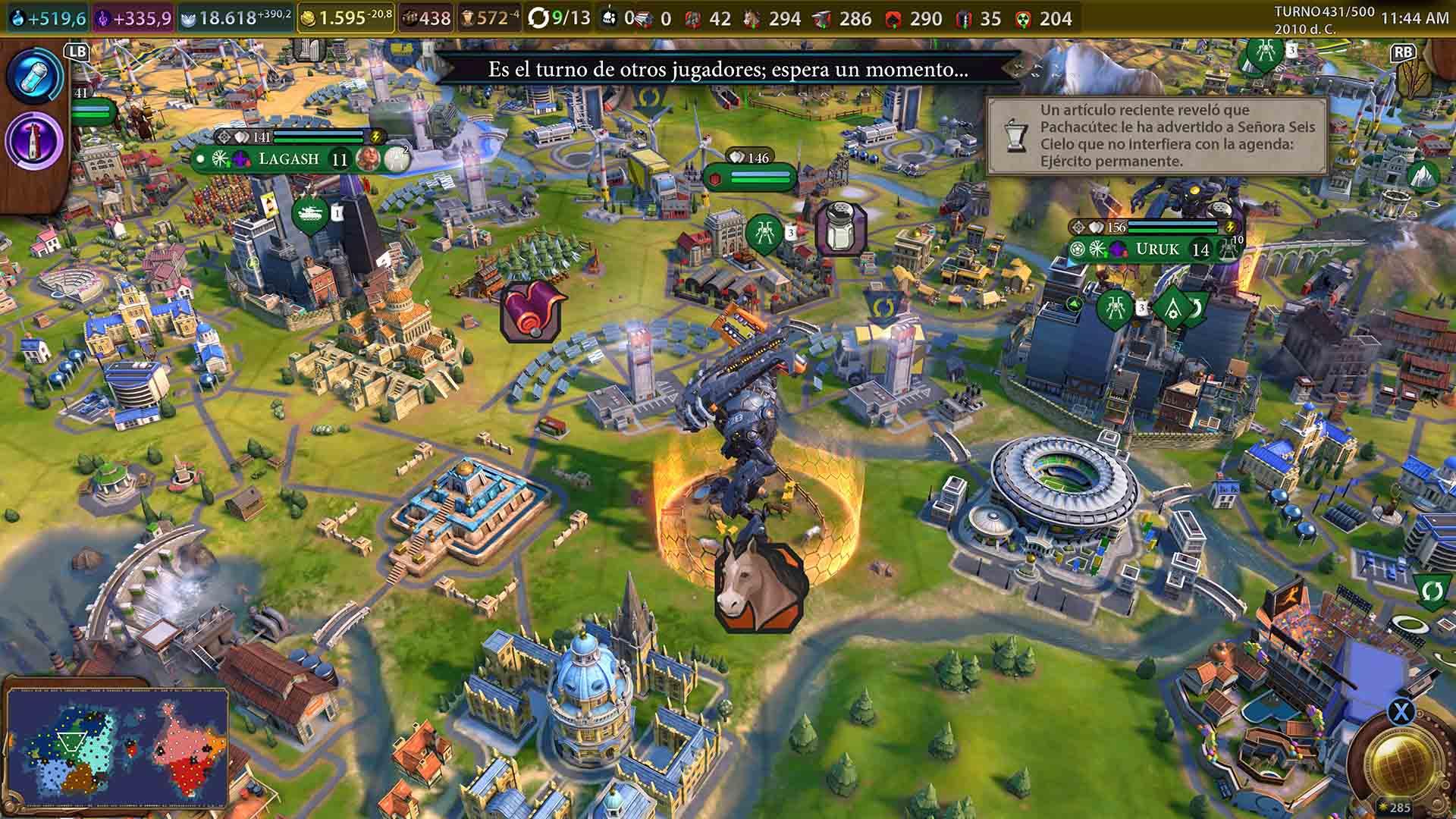 Análisis de Civilization VI - Pase New Frontier - Xbox One 10