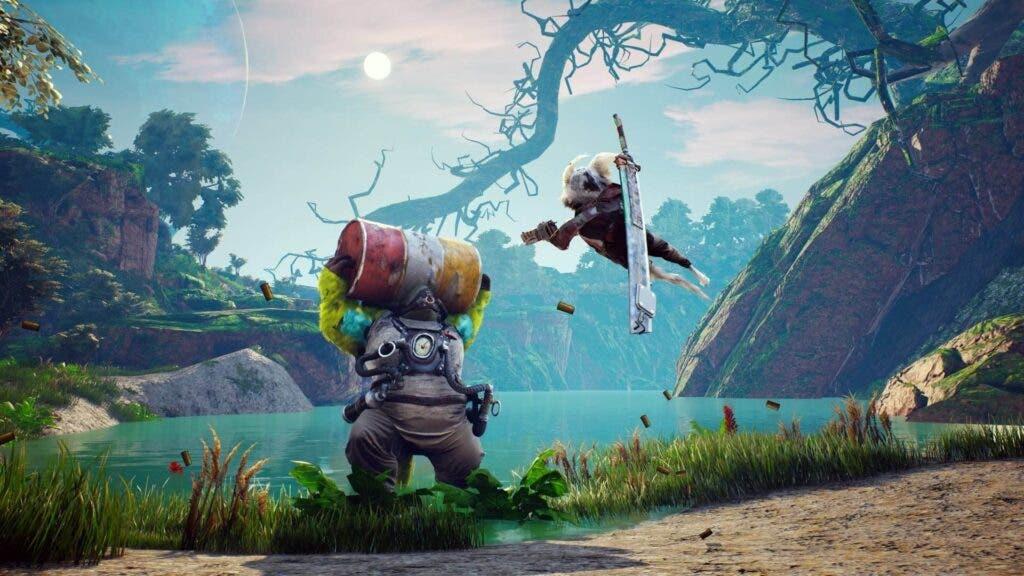 Nuevos detalles de Biomutant a través de un exclusivo gameplay