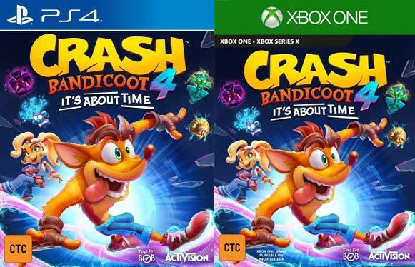 Filtrado Crash Bandicoot 4: It's About Time, nuevo juego de la franquicia 2