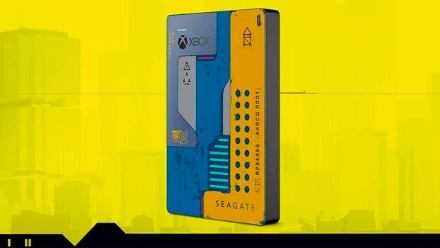 Seagate presenta el Xbox Game Drive de Cyberpunk 2077 a juego con la consola 6