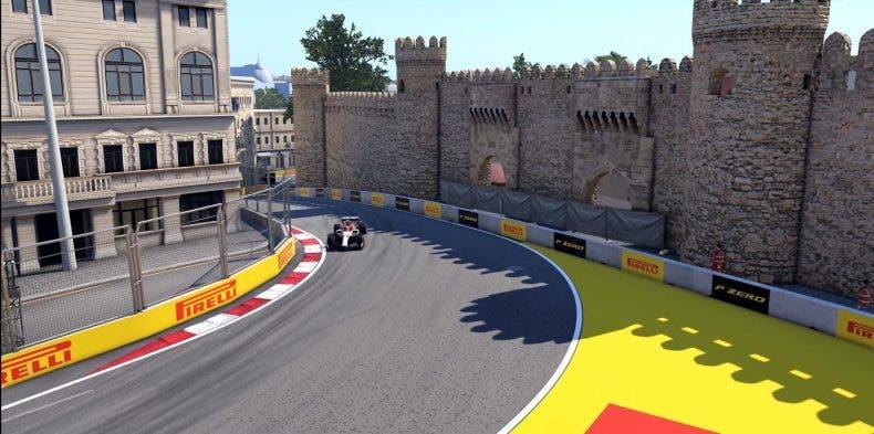 Descubre el circuito de Bakú de F1 2020, a través de una vuelta rápida 1