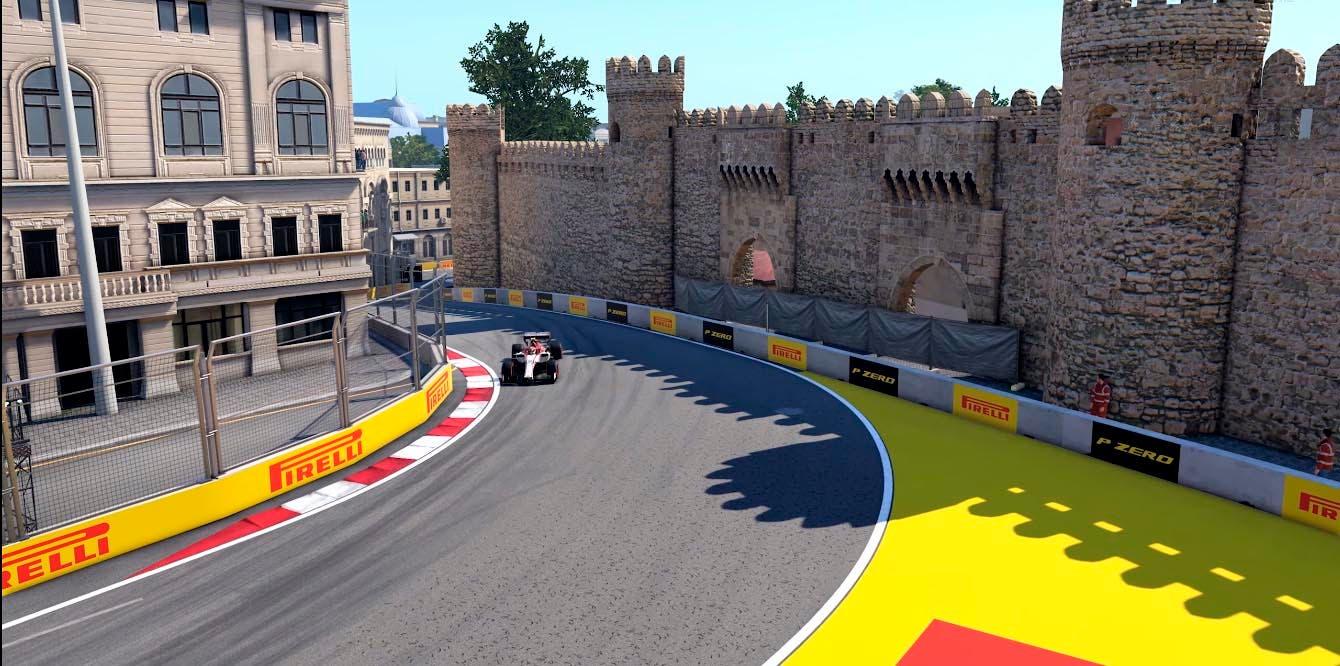 Descubre el circuito de Bakú de F1 2020, a través de una vuelta rápida 7