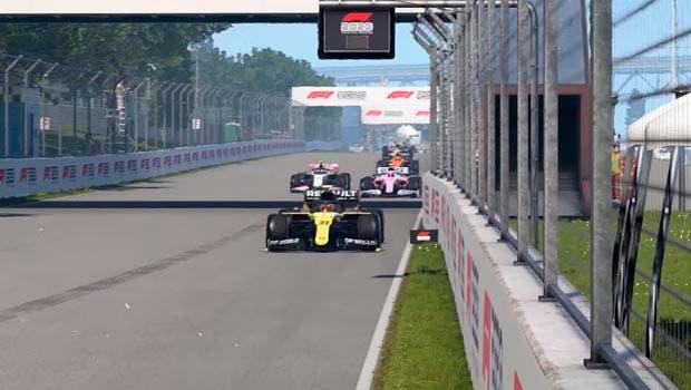 F1 2020 muestra la opción de pantalla dividida para el multijugador 1