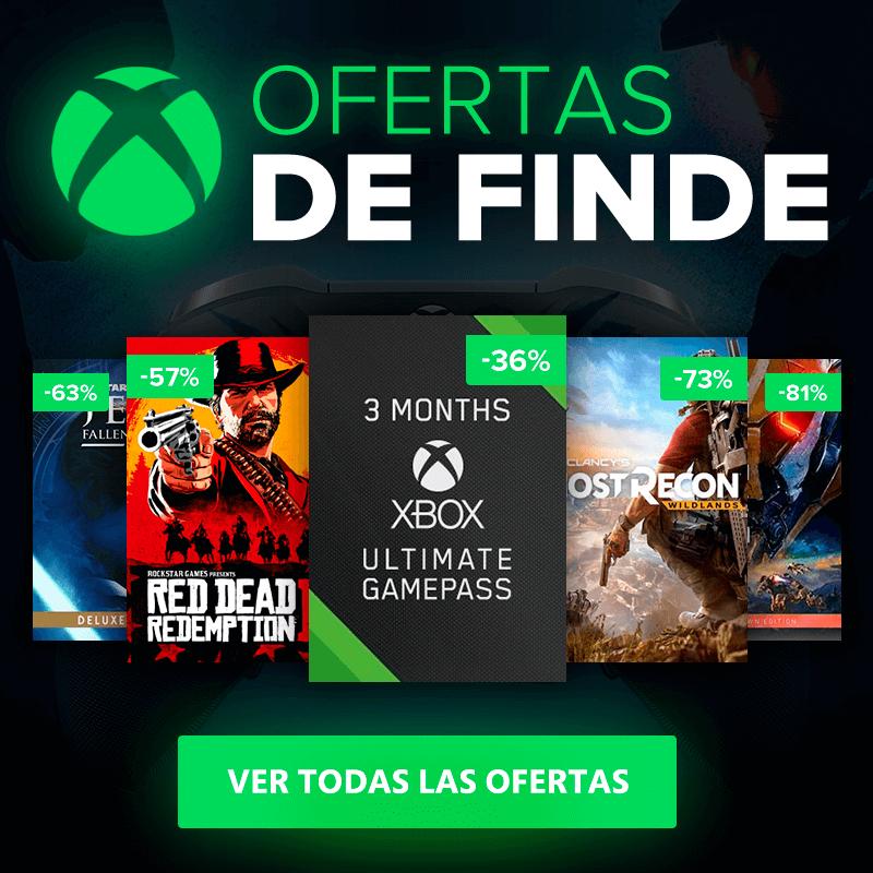 Grandes ofertas de Instant Gaming para Xbox One: Xbox Live Gold, Game Pass y juegos 2