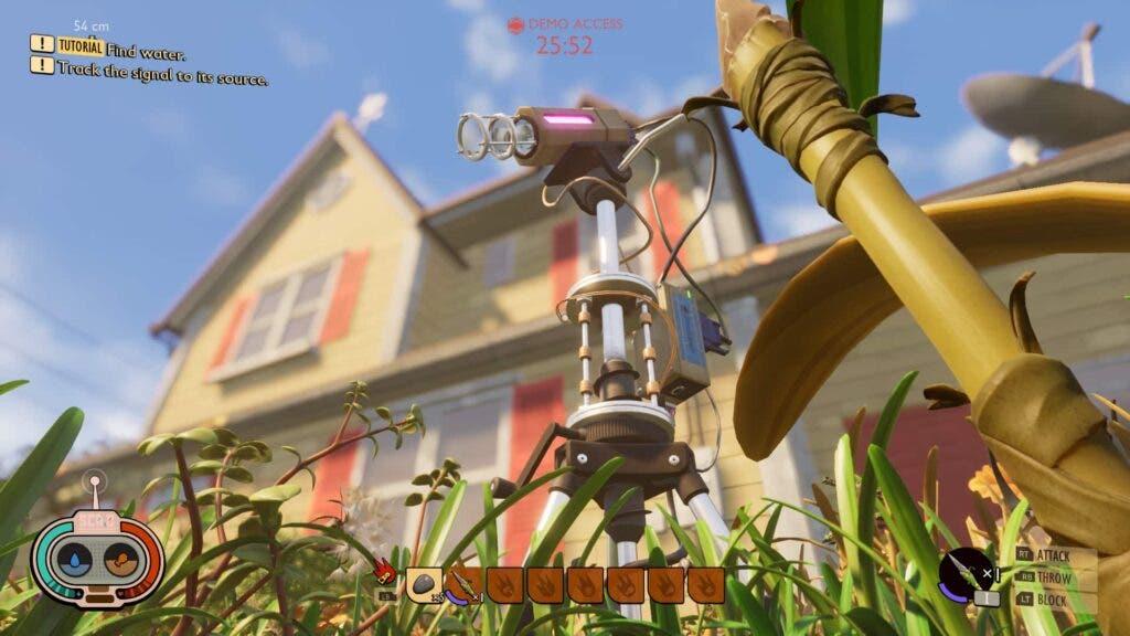 Captura de pantalla de Grounded en Xbox One X