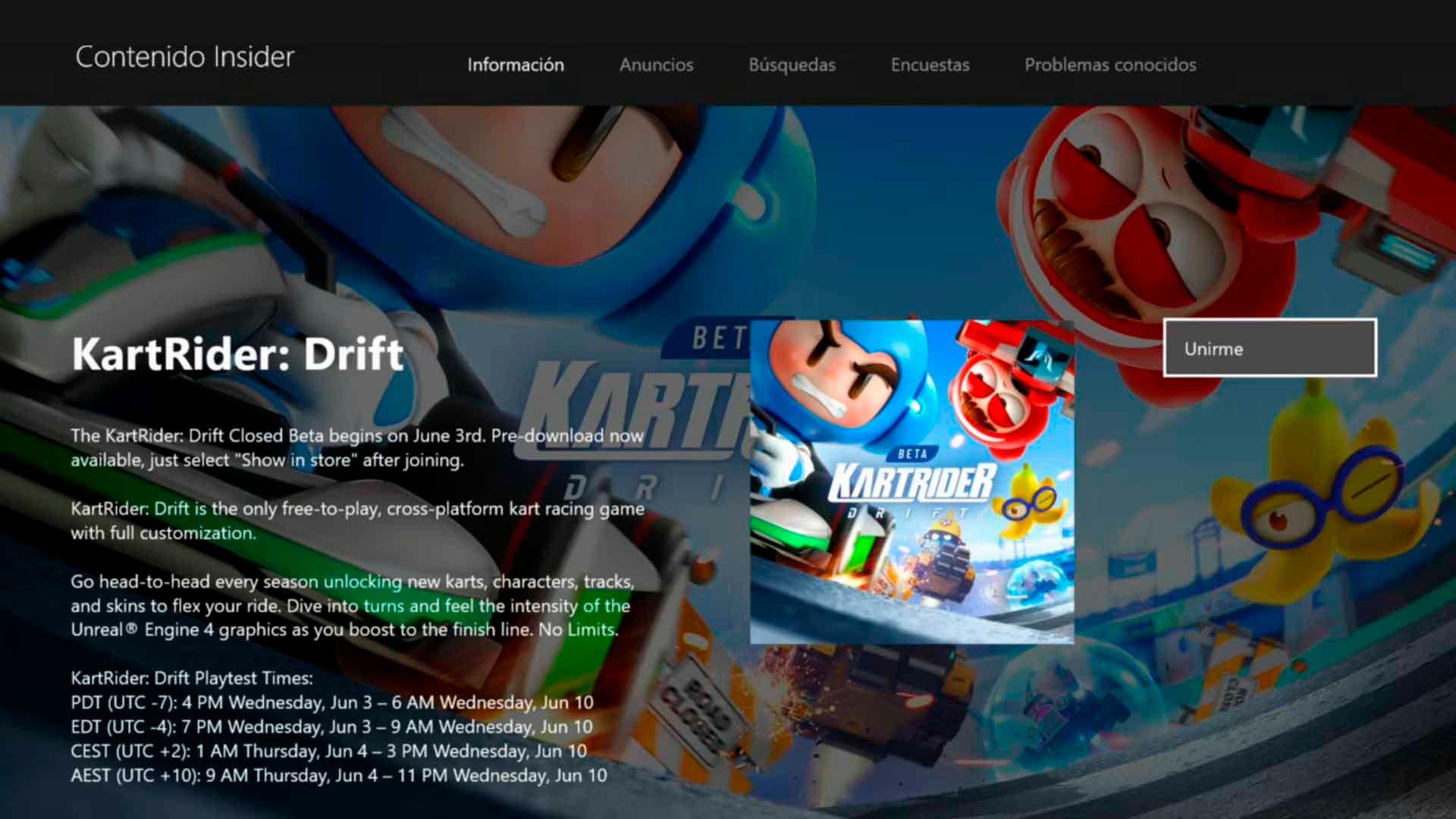 KartRider: Drift arranca su beta, disponible a través del Insider Hub 2