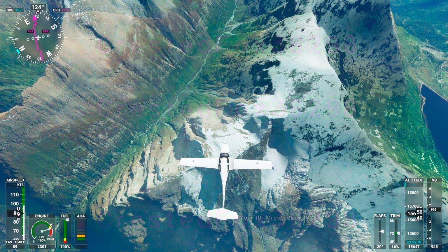 Microsoft Flight Simulator nos permite sobrevolar las nubes y el cielo nocturno en nuevas imágenes 2