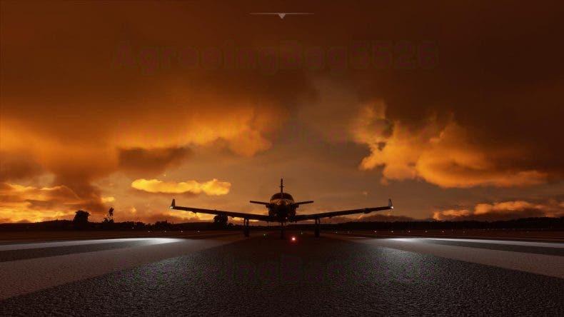 Microsoft Flight Simulator nos permite sobrevolar las nubes y el cielo nocturno en nuevas imágenes 1