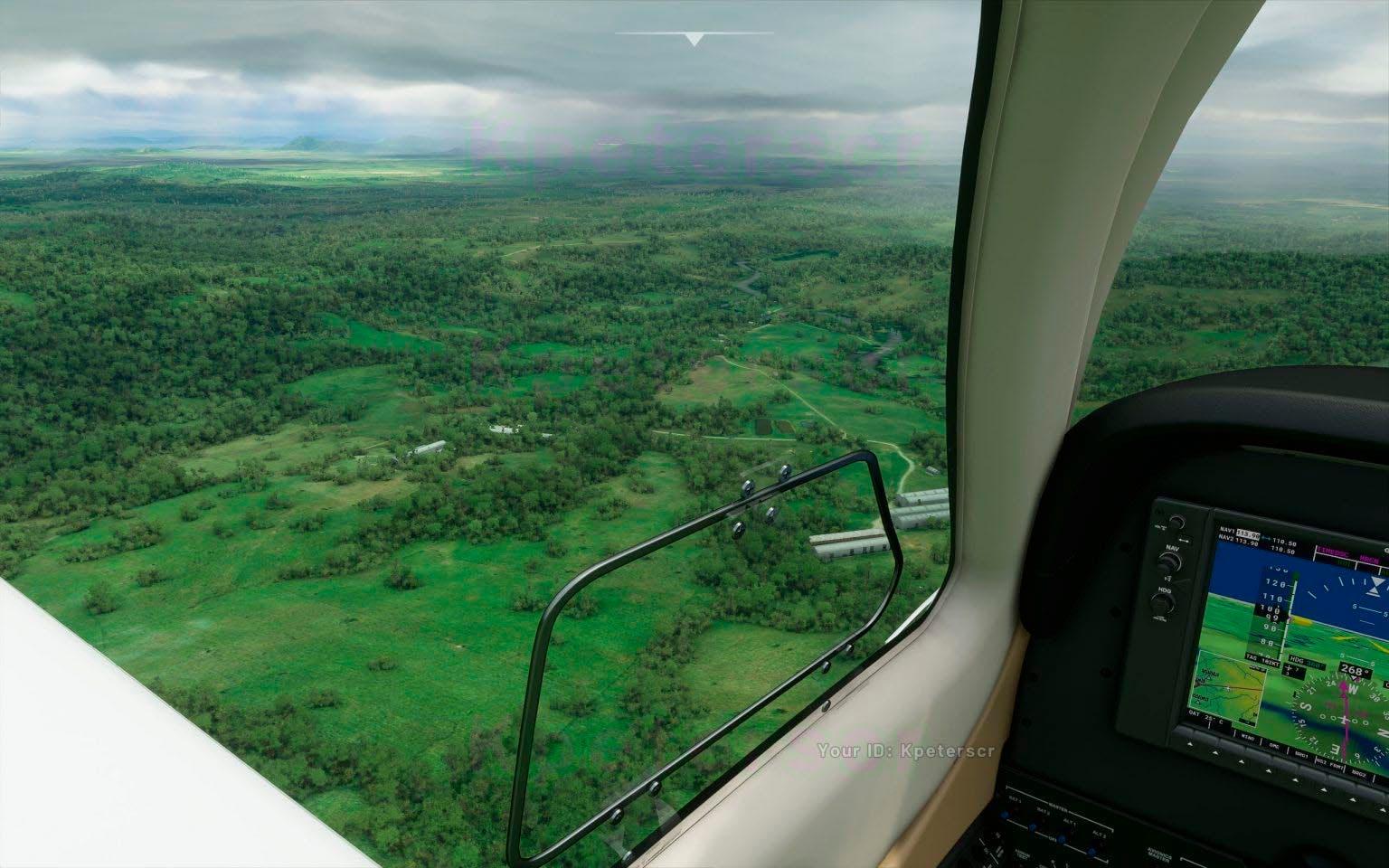 Microsoft Flight Simulator nos permite sobrevolar las nubes y el cielo nocturno en nuevas imágenes 3