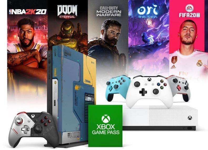 Xbox desbloquea sus ofertas en consolas, suscripciones y juegos 1