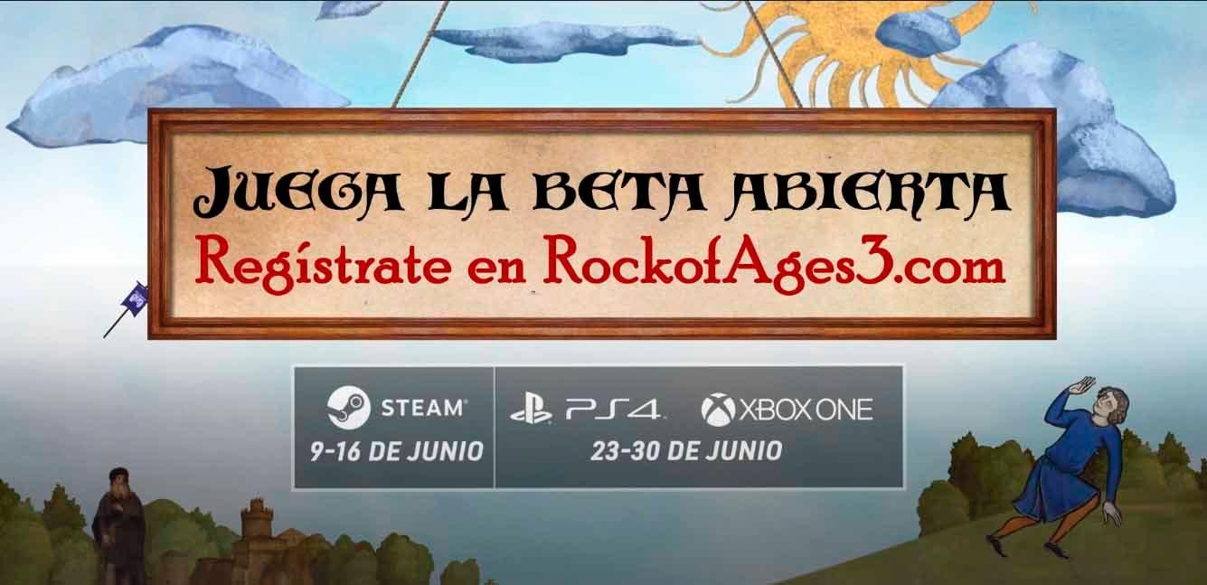 Rock of Ages 3 confirma su beta abierta en consolas 2