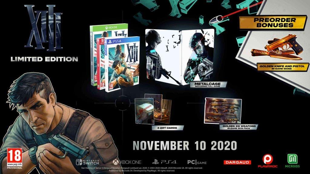 XIII Remake tiene una edición coleccionista en Xbox One