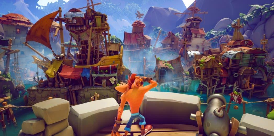 Crash Bandicoot 4 se muestra en un nuevo gameplay y confirma un nuevo modo 7