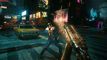 Captura de pantalla de Cyberpunk 2077