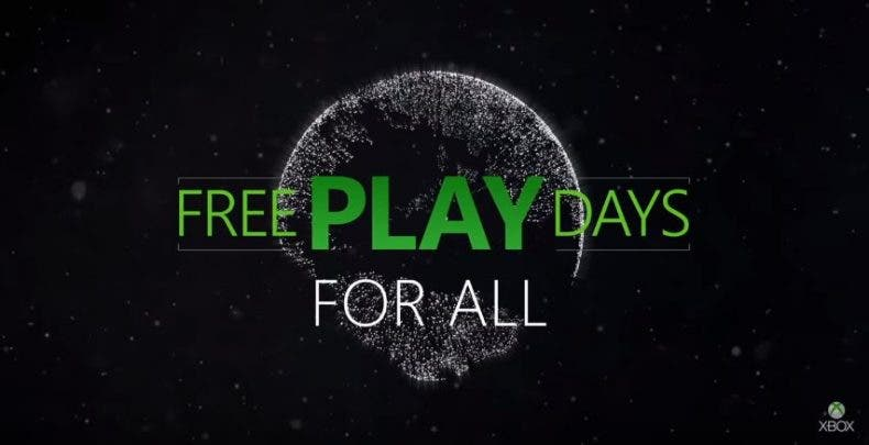 Estos son los juegos gratuitos para Xbox One gracias a los Free Play Days