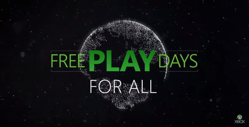 Desvelados los 3 juegos gratuitos para Xbox One gracias a los Free Play Days