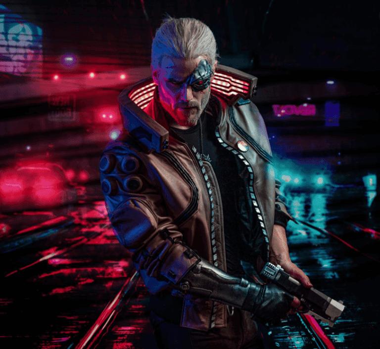 crear a Geralt de Rivia en Cyberpunk 2077