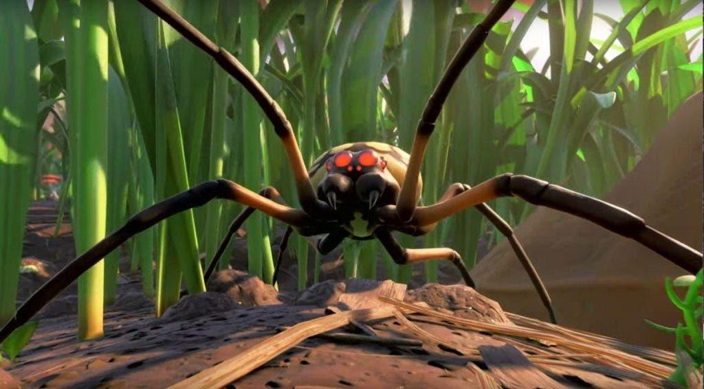 Araña de Grounded