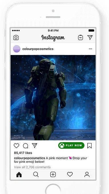 Project xCloud llegaría a redes sociales como Instagram o Facebook 1
