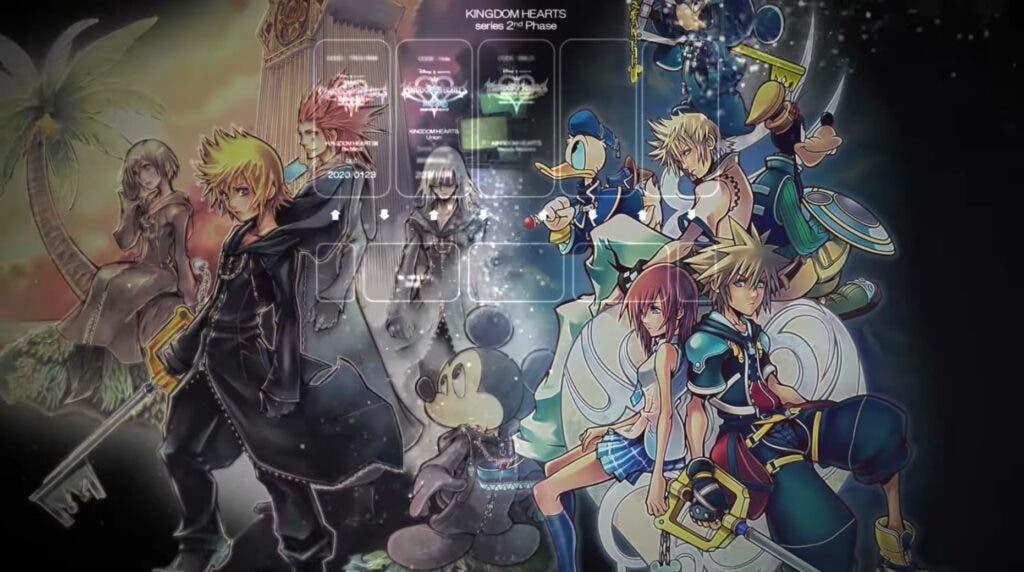 Kingdom Hearts tiene 2 proyectos todavía por anunciar