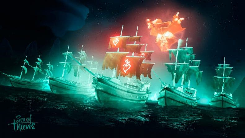 Sea of Thieves recibe su nueva actualización, Haunted Shores 1