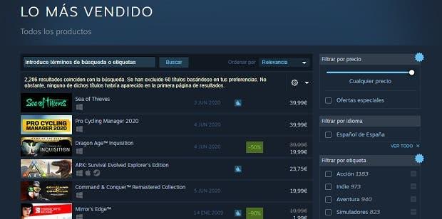 Sea of Thieves arrasa en Steam y se coloca como juego más vendido 2