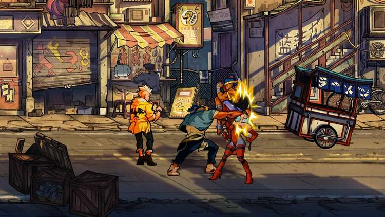 Streets of Rage 4 ha alcanzado el millón y medio de descargas 2