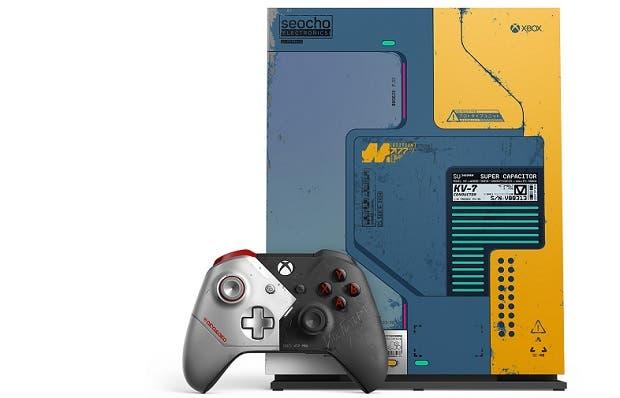 Agotado el pack de Xbox One X y Cyberpunk 2077 3