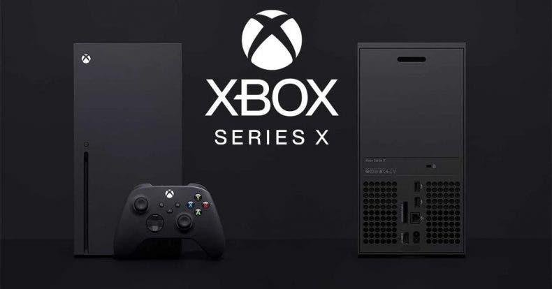 fuente de alimentación de Xbox Series X
