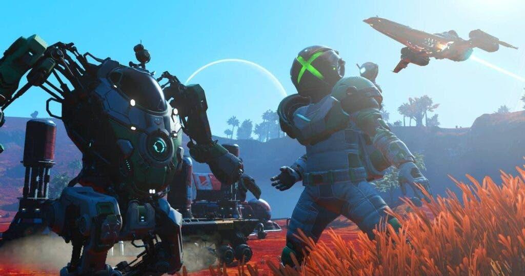 No Man's Sky agrega la nave estelar Normandy de Mass Effect