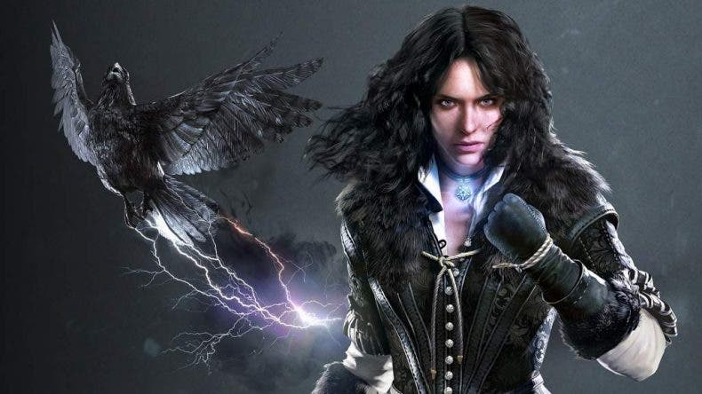 Yennefer en Cyberpunk 2077
