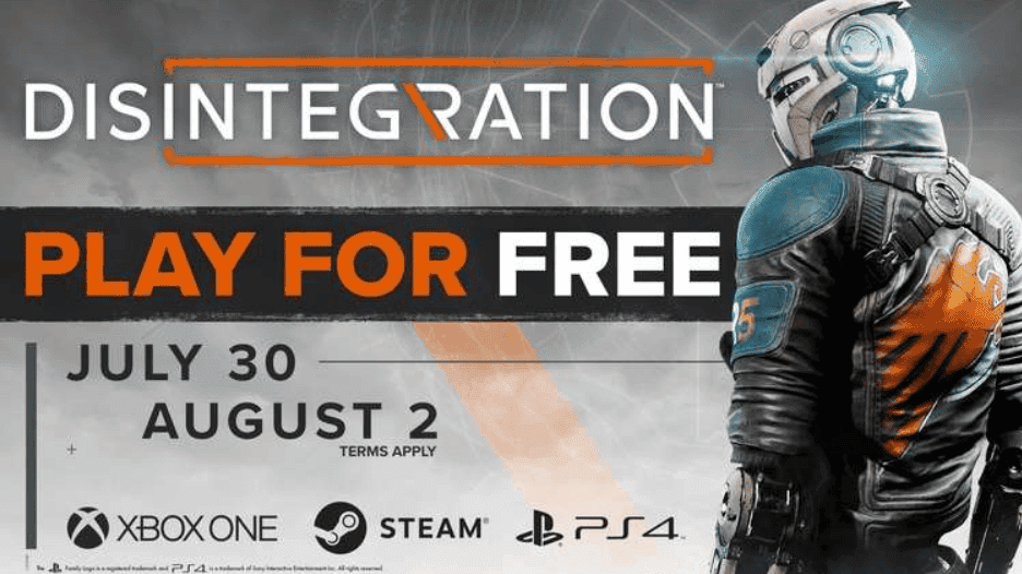 Disintegration gratis en Xbox One