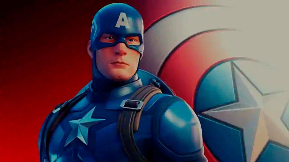 Así es como se consigue al Capitán América en Fortnite 3
