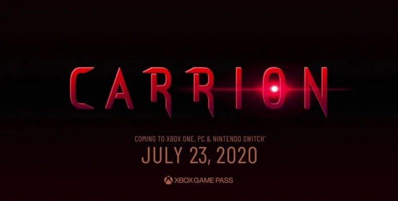 Carrion llegará a Xbox Game Pass el día de su lanzamiento 1