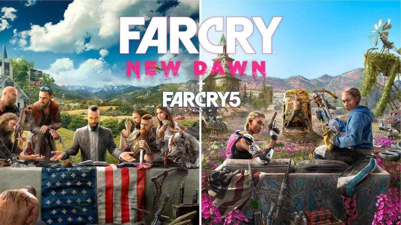 oferta de Far Cry 5 + Far Cry New Dawn para Xbox One