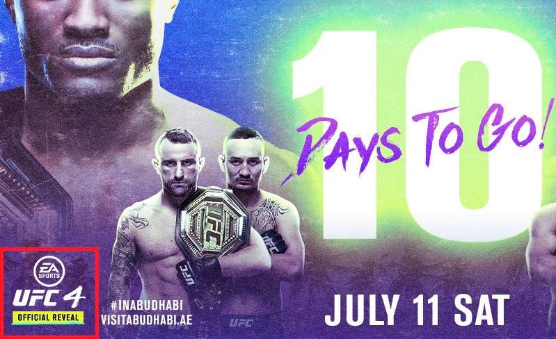EA Sports UFC 4 se anunciaría el 11 de julio