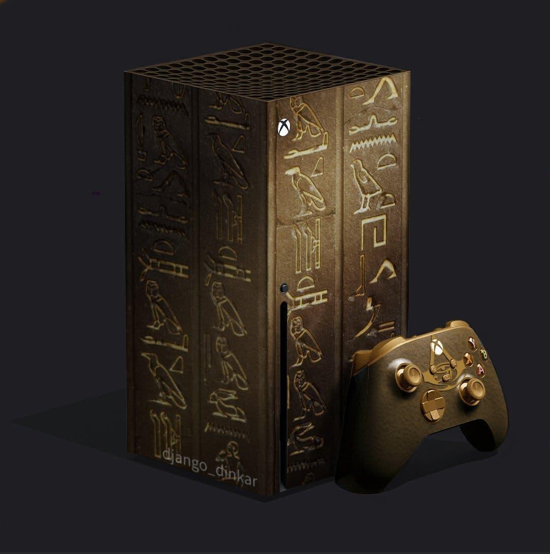 diseño de la Xbox Series X de Assassin's Creed Origins