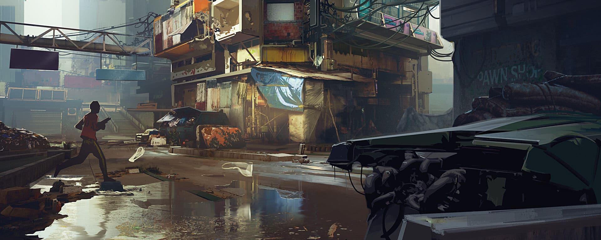 distrito de Cyberpunk 2077