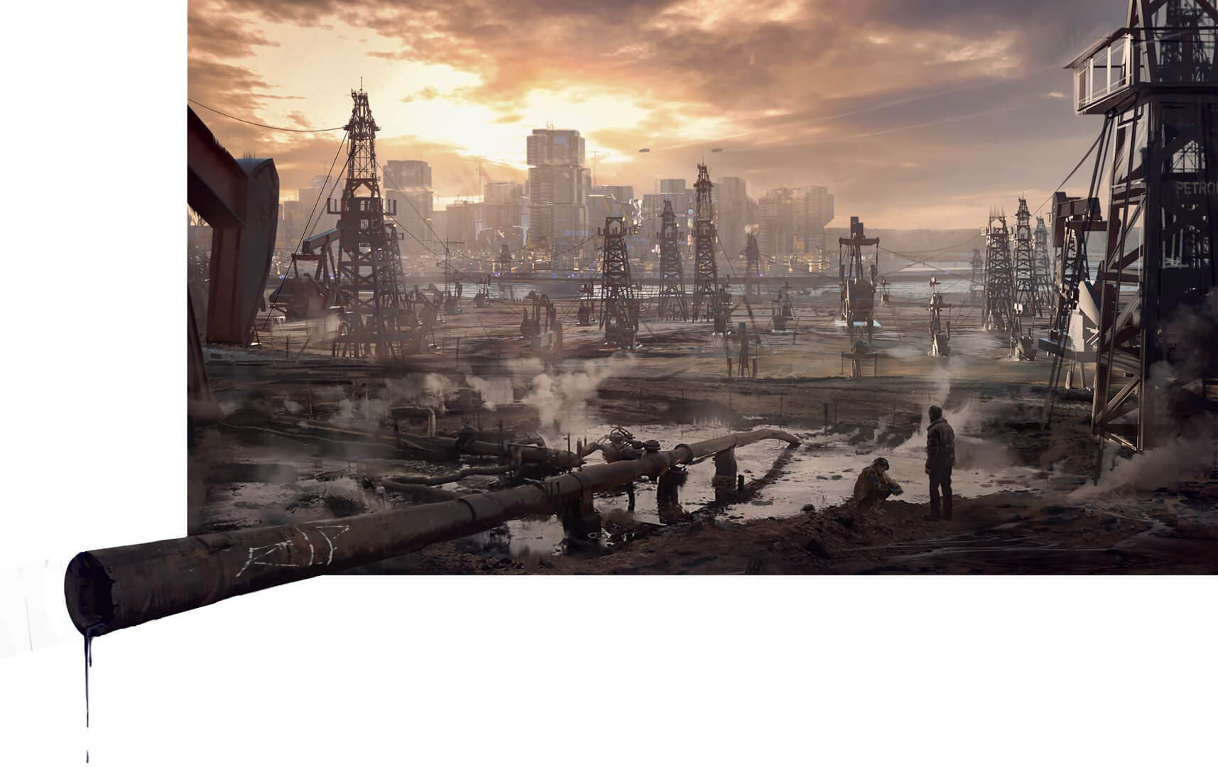 Cyberpunk 2077 nos muestra las desoladas tierras de Badlands