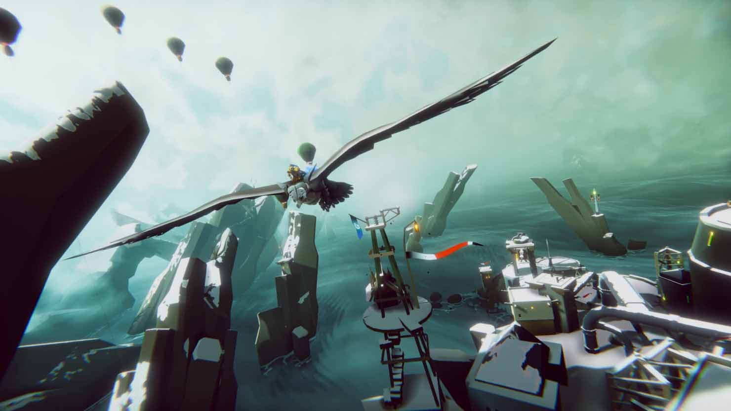 The Falconeer se muestra en un extenso gameplay y confirma modos visuales en Xbox Series X 2