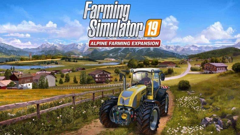 Farming Simulator 19 presenta la enorme expansión Alpine Farming Expansion 1
