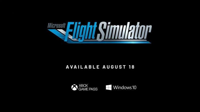Microsoft Flight Simulator estará disponible el 18 de agosto para PC