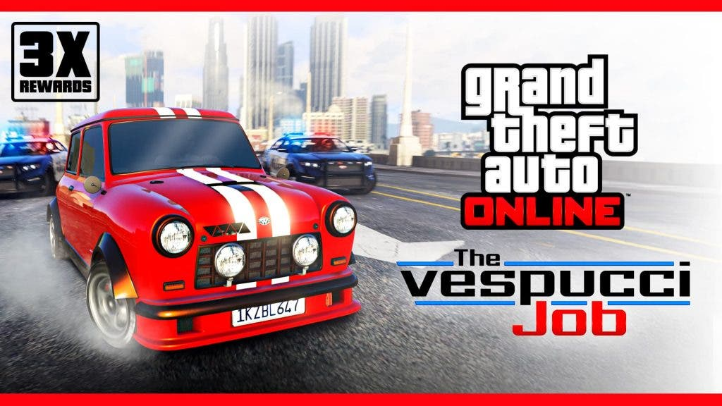 Consigue el triple de recompensas en GTA Online gracias a The Vespucci Job 1