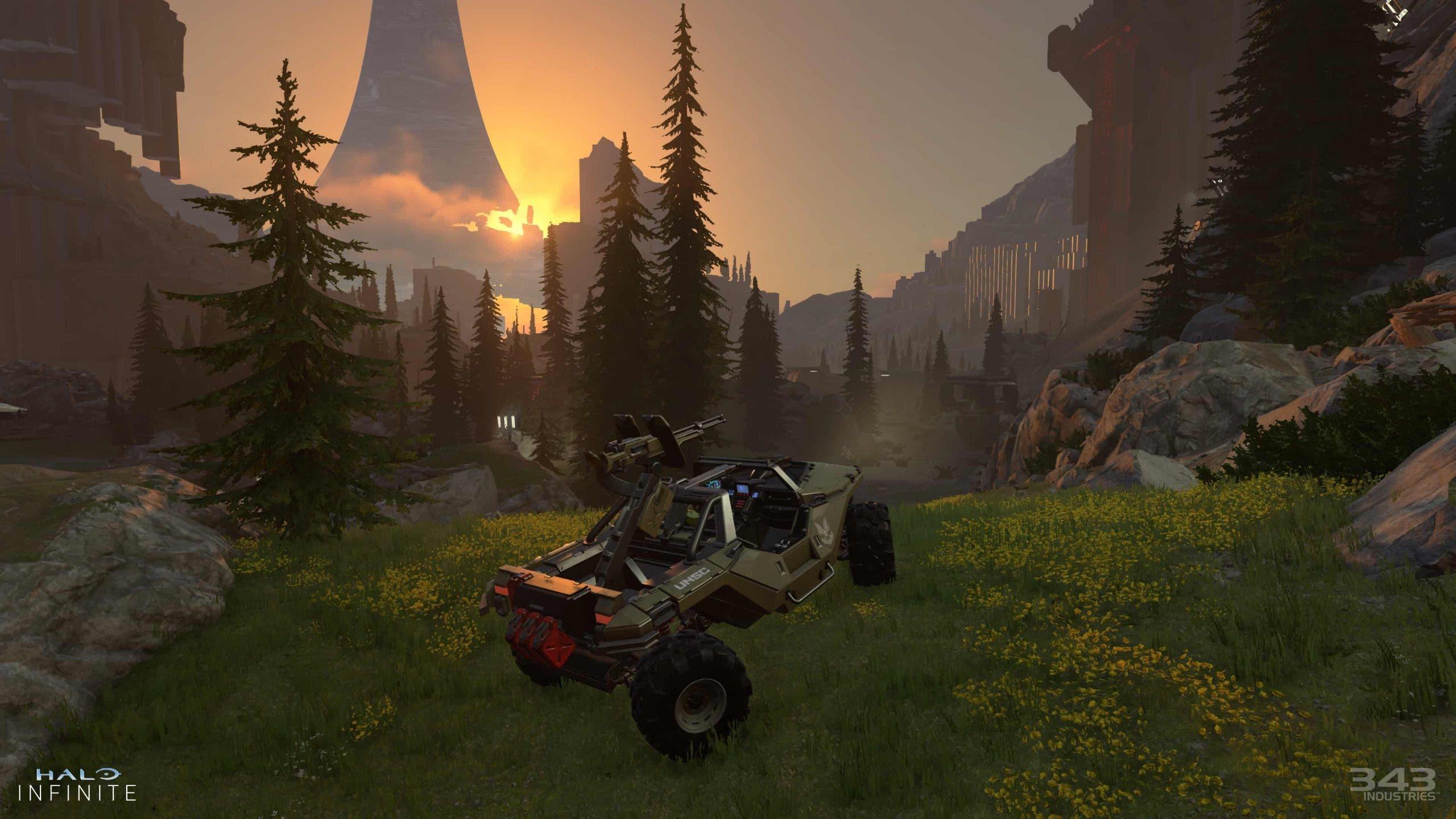 343 responde a las quejas sobre los gráficos de Halo Infinite 2