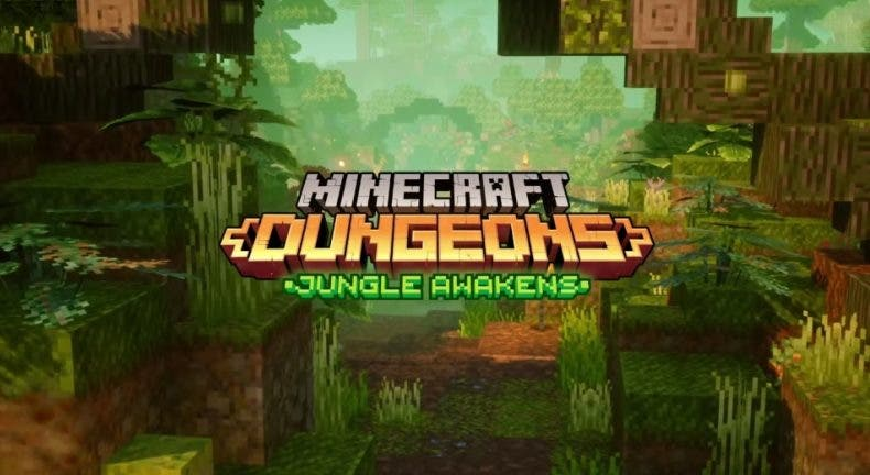 Minecraft Dungeons continúa su aventura con Jungle Awakens 1