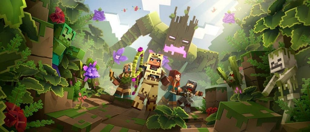 Minecraft Dungeons continúa su aventura con Jungle Awakens