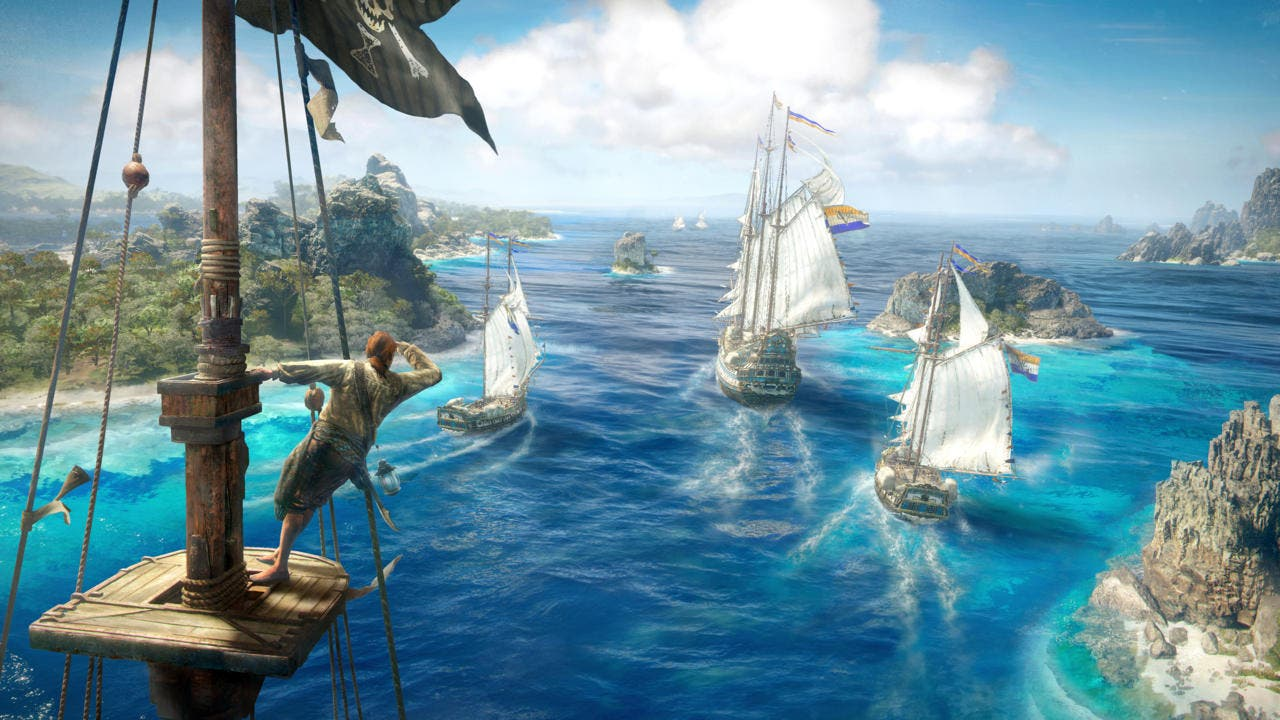 Skull and Bones y Gods and Monsters van por buen camino