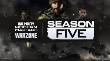 fecha de la temporada 5 de Call of Duty Modern Warfare y Warzone
