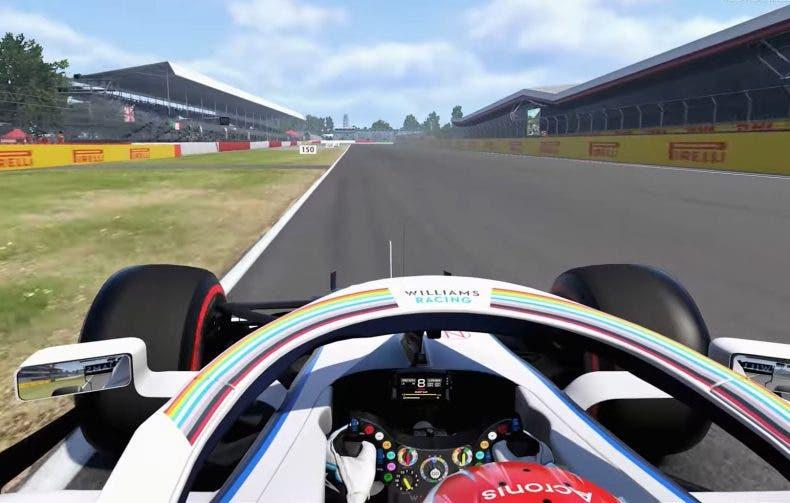 F1 2020 nos da una vuelta por el circuito de Silverstone 1