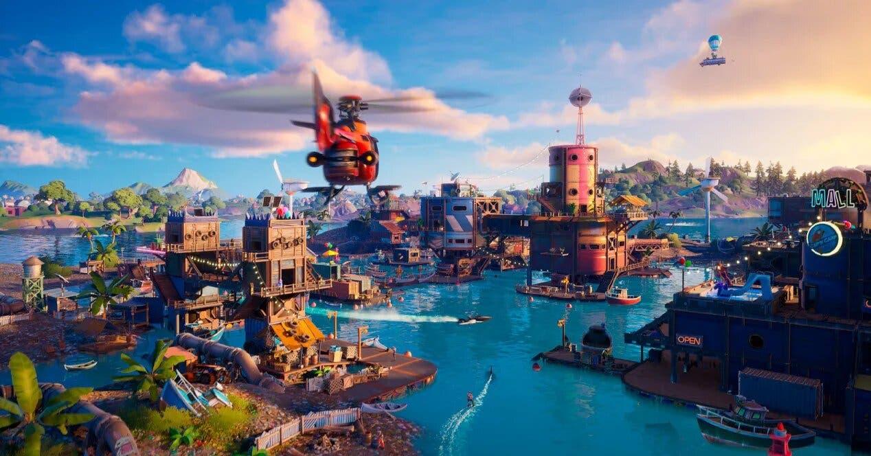 Llegan nuevos cambios al mapa de Fortnite tras la última actualización